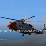RESCUED SURFER OFF SCOTTISH COAST WILL 'NEVER SURF AGAIN'