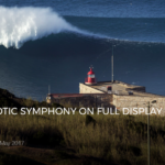 NAZARE'S CHAOTIC SYMPHONY ON FULL DISPLAY IN RED CHARGERS