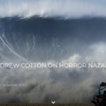 EXCLUSIVE: ANDREW COTTON ON HORROR NAZARE WIPEOUT