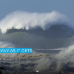 NAZARE: AS HEAVY AS IT GETS